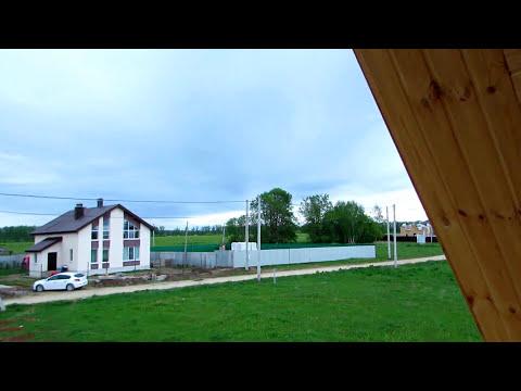 Дом баня 5 на 8 из бревна / Проект дома бани из бревна с мансардой