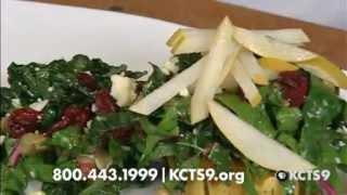 Delicata Squash & Hearty Greens Salad | Kcts 9 Cooks: Chef's Kitchen