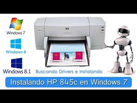 HP DESKJET 845C PRINTER SERIES DRIVER UPDATE