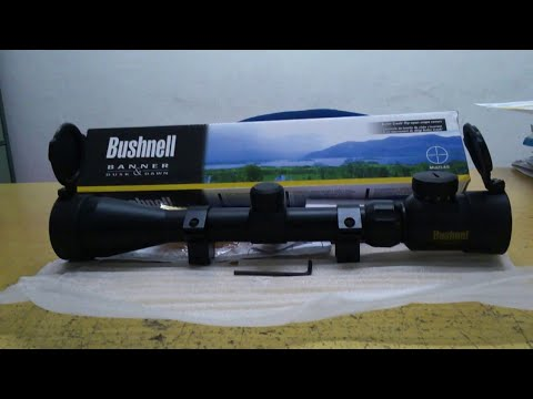 Telescope senapan bushnell eg unboxing youtube