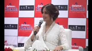 bollywood actress bipasha basu promotes aatma in ahmedabad gujarat