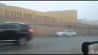 Today Jeddah rain Video 17-11-2015 By Zakria