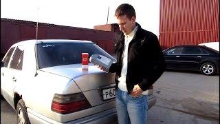 Замена масла на Mercedes w124 e200