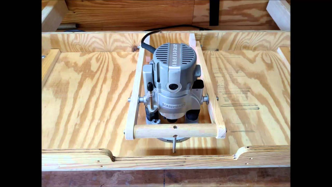 Router lift homemade router table with craftsman plunge router router lift homemade router table with craftsman plunge router keyboard keysfo Images