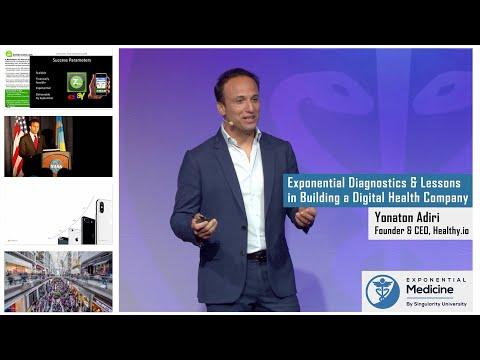 Exponential Diagnostics \u0026 Lessons In Building A Digital Health Company. Yonatan Adiri Of Healthy.io