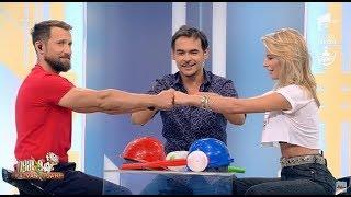 Provocare pentru Ana Baniciu! Artista joacă cu Dani piatră-foarfece-hârtie în platoul de la Neatza