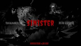 """""""Sinister"""" 90s OLD SCHOOL BOOM BAP BEAT HIP HOP INSTRUMENTAL (vintage X JRLISKE)"""