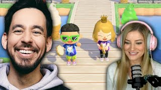 Mike Shinoda Visits My Animal Crossing Island!