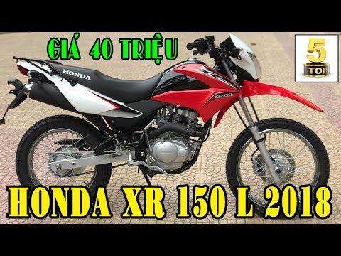 HONDA XR 150 L 2018 | Xe mô tô địa hình cỡ nhỏ giá 40 triệu có mặt tại Việt Nam | TOP 5 ĐAM MÊ