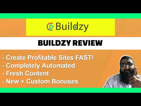 Buildzy Review | Create Unlimited Ranking Sites to Monetise thumbnail