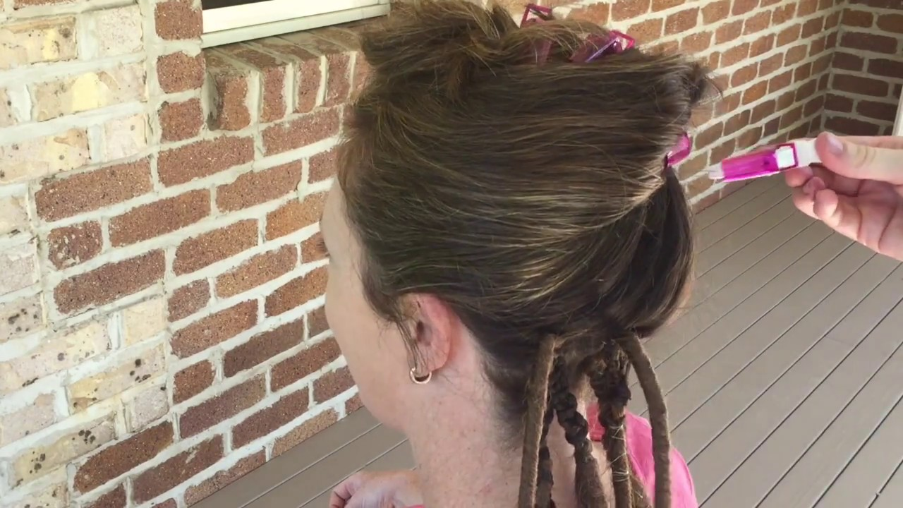 How To Install Double Ended Dreadlock Extensions Youtube