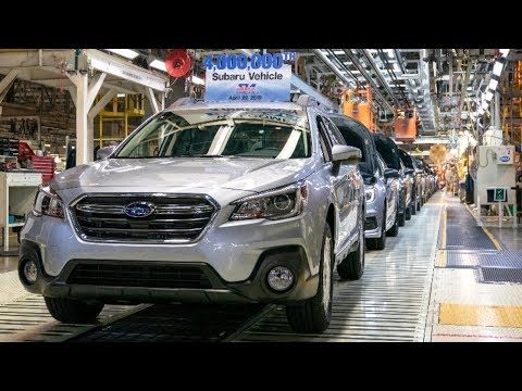 SUBARU FACTORY Production In Indiana Automotive Plant