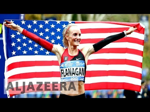 Shalane Flanagan: First US woman to win New York marathon in 40 years