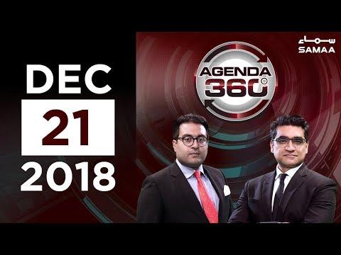 Khawaja Saad Rafique Ka U-Turn | Agenda 360 | SAMAA TV | 21 Dec,2018