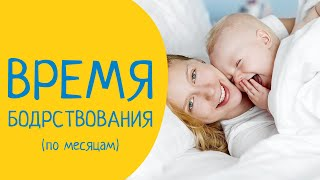Время Бодрствования ребенка по месяцам. Таблица сна и бодрствования ребенка до года.