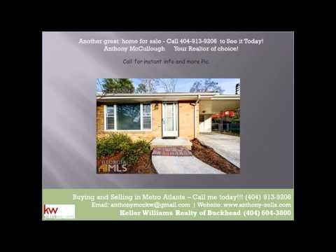 home for sale in Dresden Way Atlanta GA