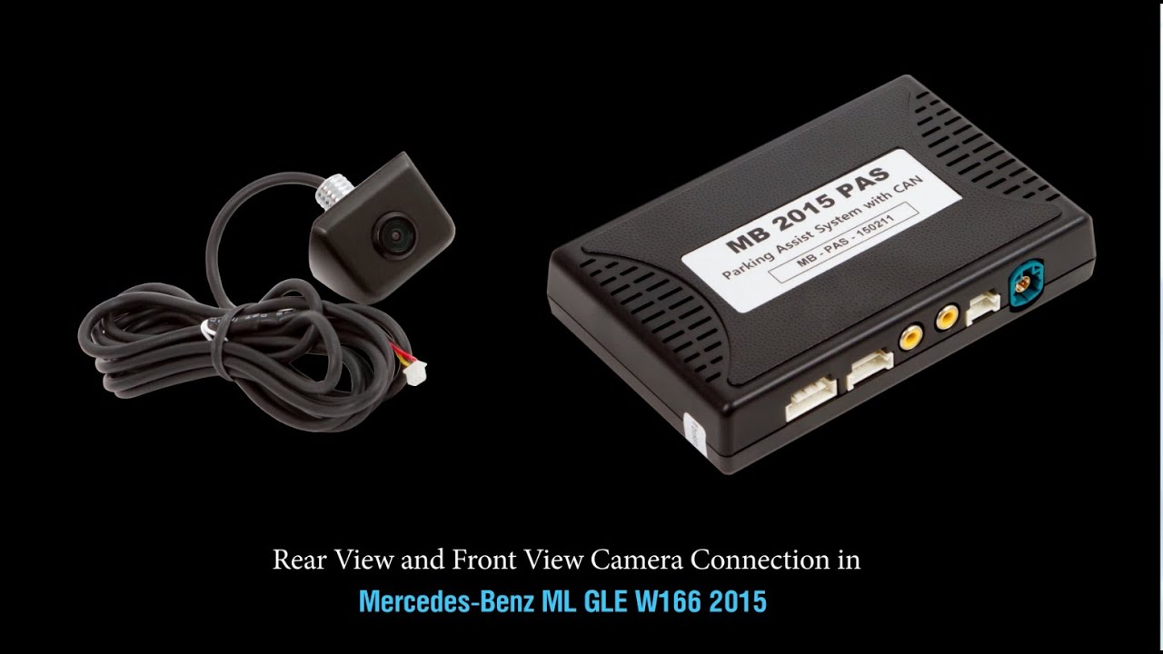 Rear view and front view camera connection in mercedes for Mercedes benz com connect