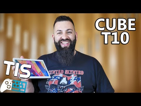 Cube T10 Tablet - Unboxing & Review (Greek)