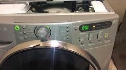 Sud F35 Error Code Kenmore Elite Washer Repair in Austin TX