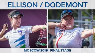 Toja Ellison v Sophie Dodemont – compound women quarterfinal | Moscow 2019 World Cup Final