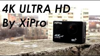 XiPro Xi7000 Розпакування та огляд! 4k ultra HD Екшн Камера.