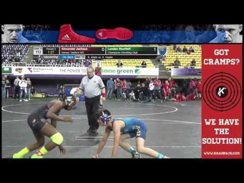 5127 Novice 112 Mat 11 Alexander Jackson Harvey Twisters WC vs Landen Shurtleff Champions Wrestling