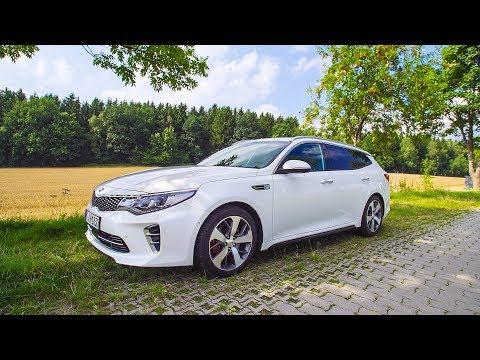2017 KIA Optima SW GT Test Drive | Review | Fahrbericht ///Lets Drive///