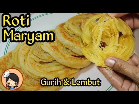 Resep Roti Maryam Konde Canai Lembut Youtube