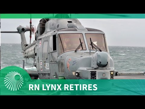 Royal Navy Lynx retires after 41 years