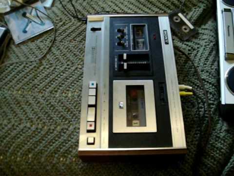Sony Cassette-Corder TC-131 SD cassette machine