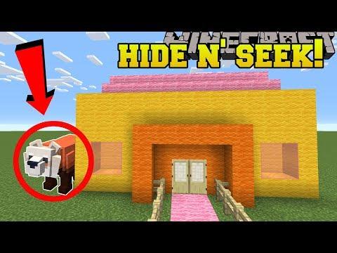 Minecraft: PANDA BEARS HIDE AND SEEK!! - Morph Hide And Seek - Modded Mini-Game