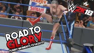 nL Live - WWE 2K18 ROAD TO GLORY Highlights! (11/14/2017 Stream)
