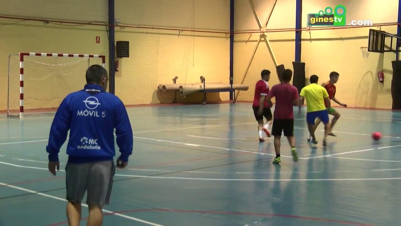 Este domingo, II Torneo Navideño de Fútbol Sala en el Pabellón Cubierto de Gines