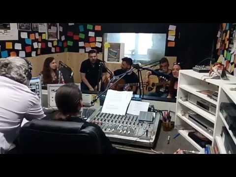 Sugar Free! Band 🍭 Down in Mexico acoustic cover Live in studio radio lyxnari