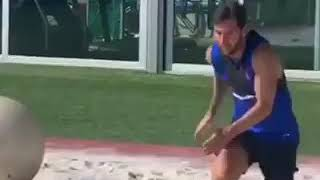 Messi Is Back In Training