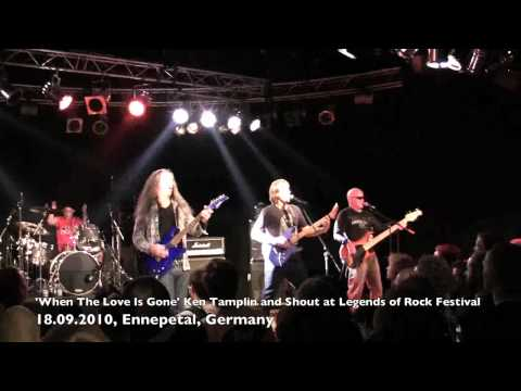 KEN TAMPLIN - SHOUT - WHEN THE LOVE IS GONE LIVE - LEGENDS OF ROCK FEST 2010.mov