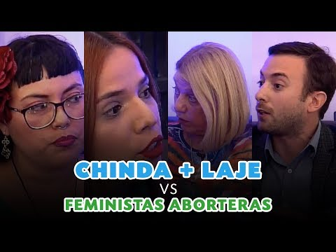Debate: Laje & Brandolino vs Dos feministas aborteras.