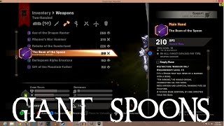"""Dragon Age: Inquisition - Secret Two Handed Spoon - """"The Quizquisition"""" [Boon of the Spoon]"""