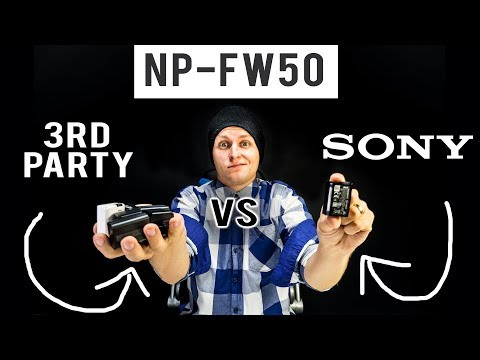 Ultimate Sony Vs 3rd Party Battery Battle || Best Battery For A6400, A7s II, A7r II, A6300, A6500