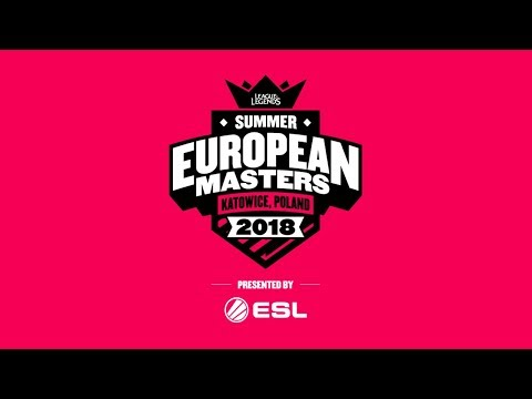 EU Masters Summer Season 2018 - Group Stage Day 3