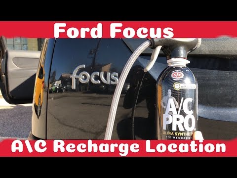 How To Recharge Your A/C on a Ford Focus (1999 - 2007)