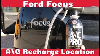 Gambar cover How To Recharge Your A/C on a Ford Focus (1999 - 2007)