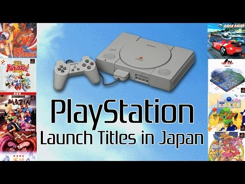 The PS1's Japanese Launch Lineup - PlayStation Year Zero