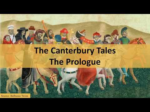 The Canterbury Tales by Geoffrey Chaucer: overview, context, prologue | Narrator: Barbara Njau