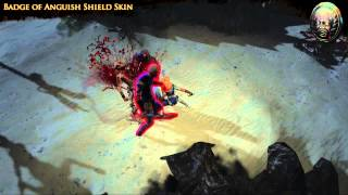 Path of Exile - Badge of Anguish Shield Skin