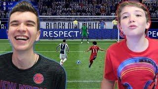 DESAFIO DE PÊNALTIS NO FIFA 19 X MEU IRMÃO!!! QUEM BATE MELHOR???