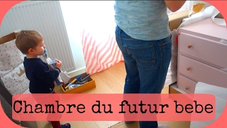 Vlog famille- La chambre du futur bebe !