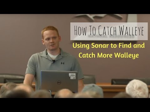 How To Catch Walleye - Using Sonar to locate and catch more Walleye
