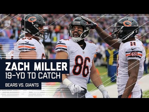 Jay Cutler Finds Zach Miller for an Opening Drive TD! | Bears vs. Giants | NFL