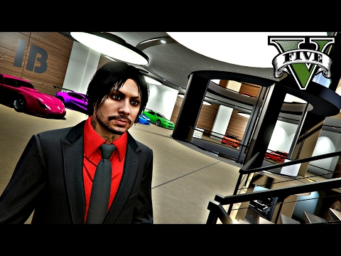 GTA 5 GARAGE TOUR WITH LUXURY HOMES & APARTMENTS (GTA 5 Online Live Stream)